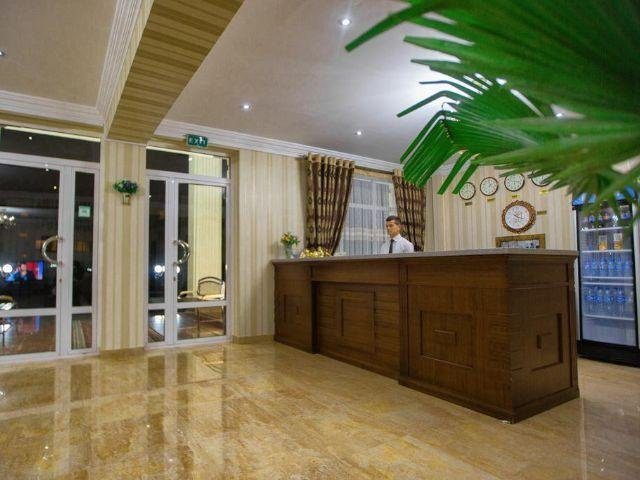 Samarkand - City Hotel *** - receptie