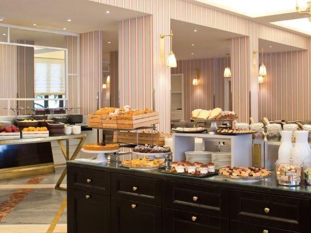 Italië - Rome - Starhotels Michelangelo **** - ontbijtruimte