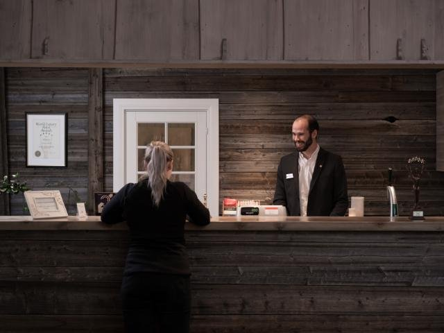 Hafjell - Nermo Hotel & Apartments - Receptie