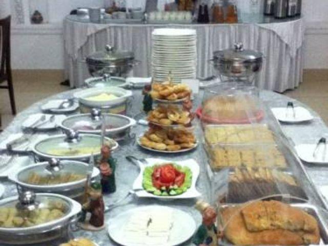 Boechara - Hotel Siyavush *** - ontbijtbuffet
