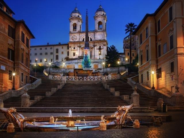 Italië - Rome - Spaanse Trappen