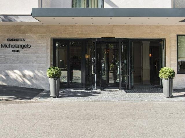 Italië - Rome - Starhotels Michelangelo **** - entree