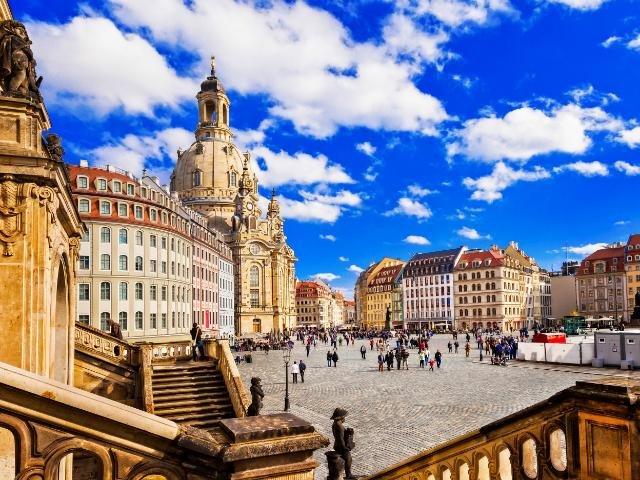 Duitsland - Wittenberg - Marktplein