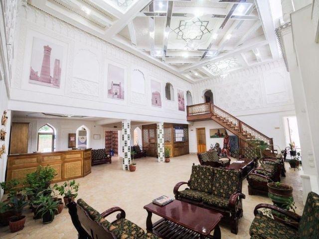Boechara - Hotel Siyavush *** - receptie - lounge