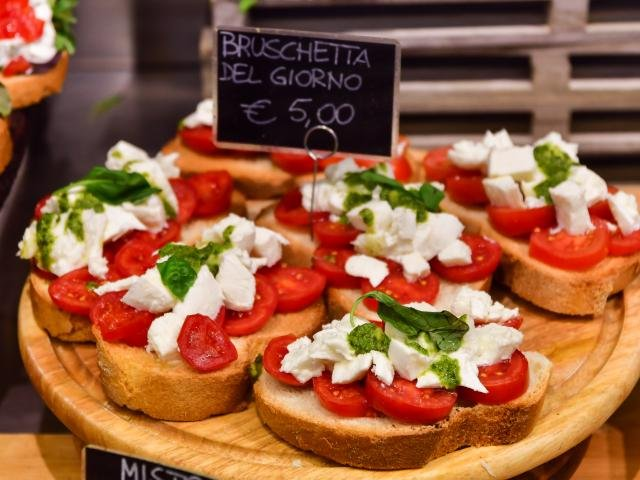 Italië - Bruchetta