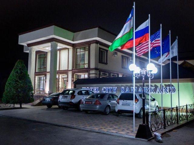 Samarkand - City Hotel *** - aanzicht