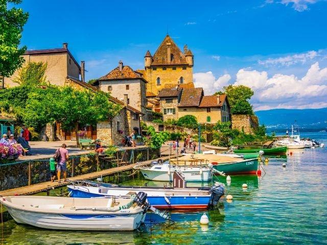 Frankrijk_Haute Savoie_Yvoire_Meer van Genève