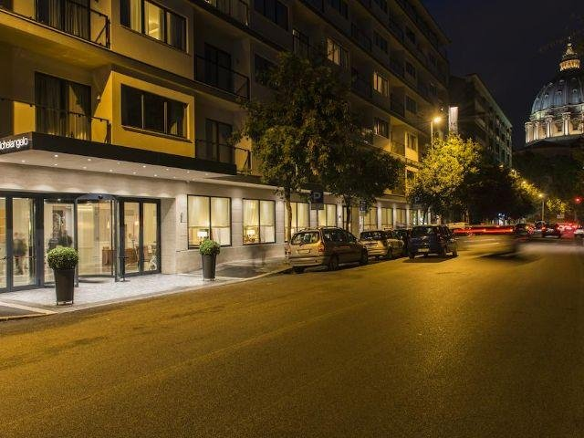 Italië - Rome - Starhotels Michelangelo **** - aanzicht