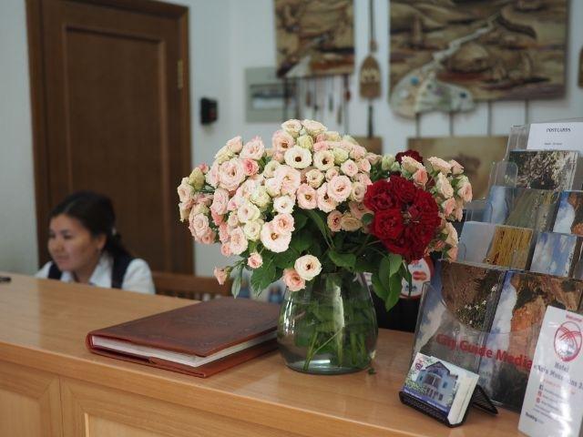 Bishkek - Hotel Asia Mountains *** - receptie