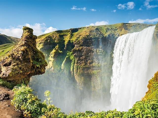 IJsland - Skogafoss Waterval