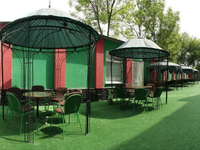 Lviv - Hotel Nton *** - tuin