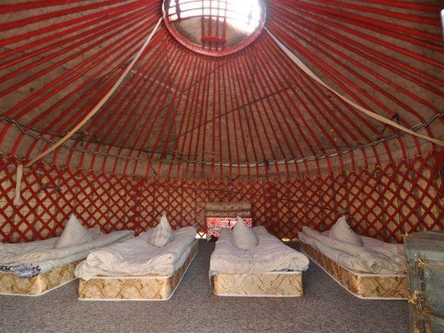 Son Kul - Yurt Camp - voorbeeld Yurt