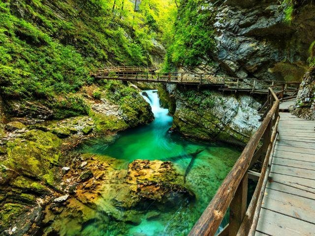 Slovenië - Vintgar kloof