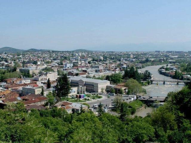 Kutaisi - Guesthouse Beka - uitzicht