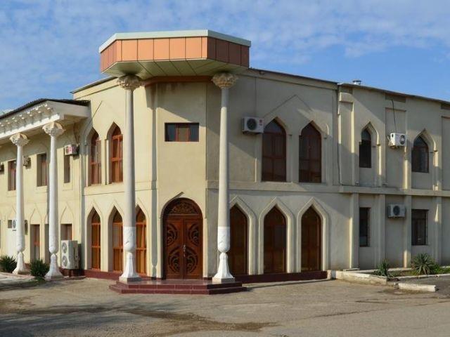 Boechara - Hotel Siyavush *** - aanzicht hotel