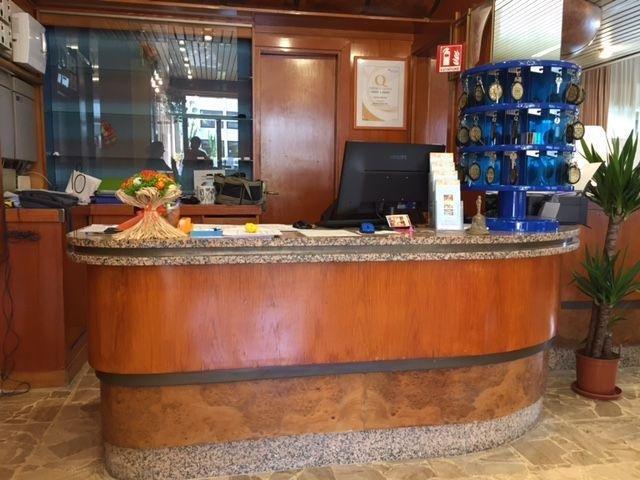 Italië - Diano Marina - Hotel Kristall *** - receptie