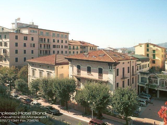 Montecatini Terme - Hotel Biondi **** - aanzicht hotel