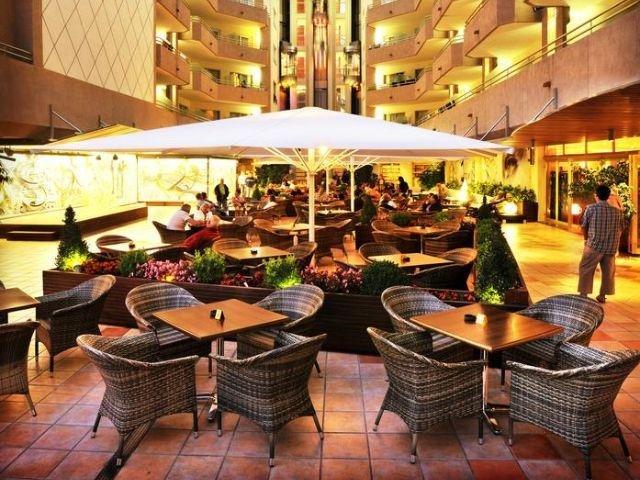 Santa Susanna - Hotel Florida Park **** - terras