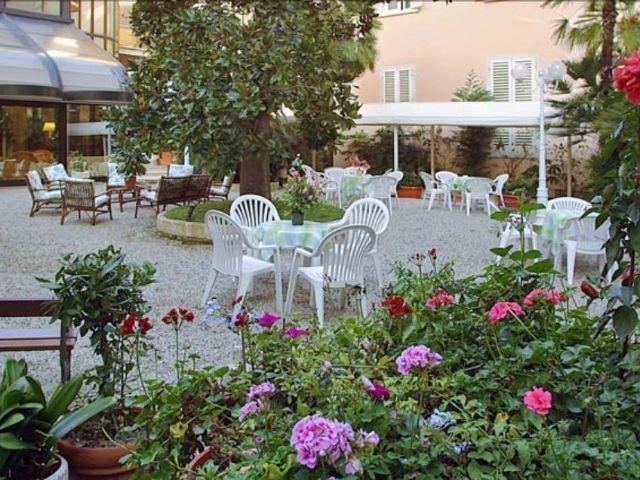 Montecatini Terme - Hotel Biondi **** - tuin
