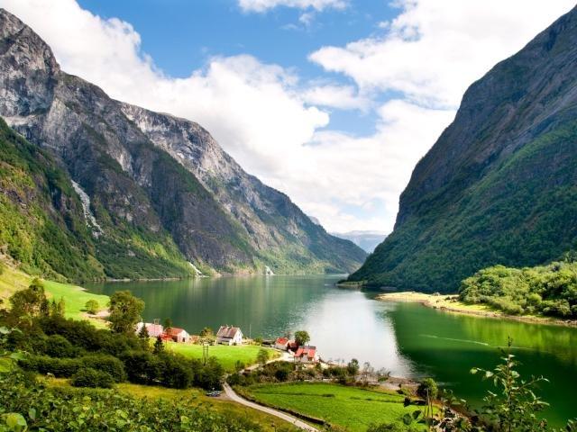 Noorwegen - Naeroyfjord