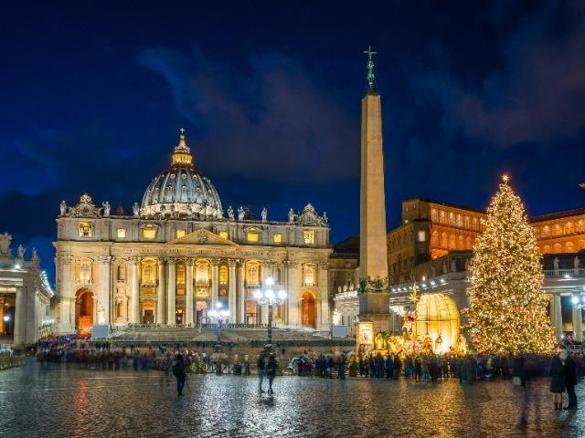 Italië - Rome - Vaticaanstad - Sint Pieterplein