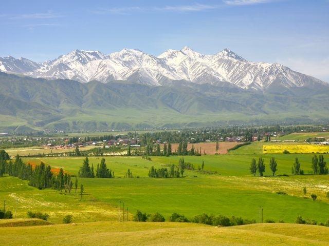 Kirgistan - omgeving Bishkek