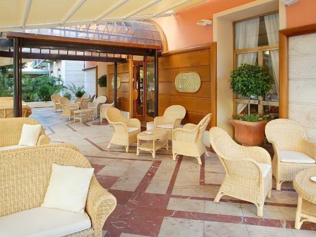 Montecatini Terme - Hotel Biondi **** - terras