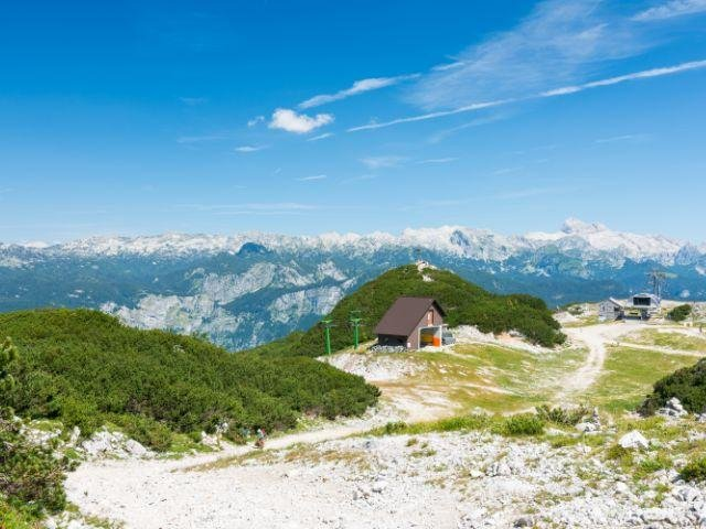 Slovenië - Mount Vogel