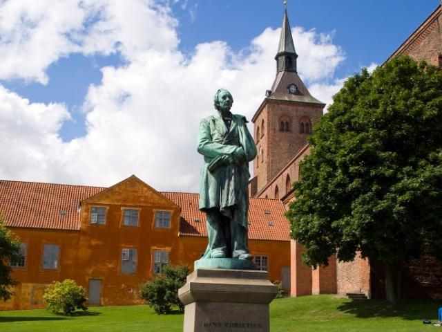 Odense beeld van Hans Christian
