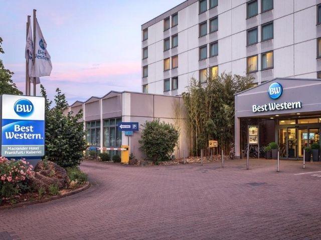Frankfurt - Best Western Macrander Hotel Frankfurt **** - aanzicht