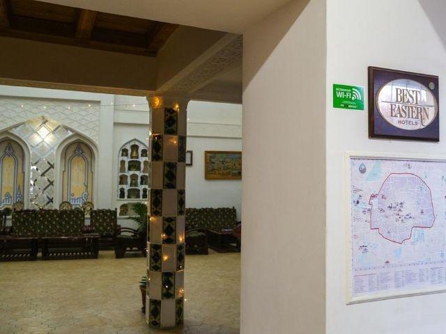 Boechara - Hotel Siyavush *** - algemene ruimte