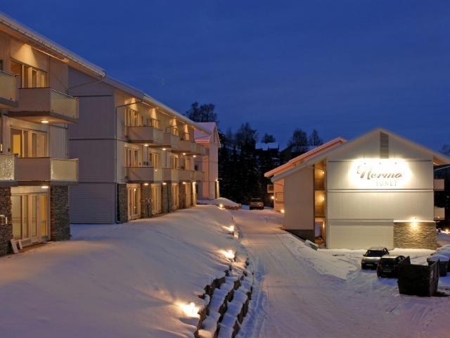 Hafjell - Nermo Hotel & Apartments - Aanzicht appartementen