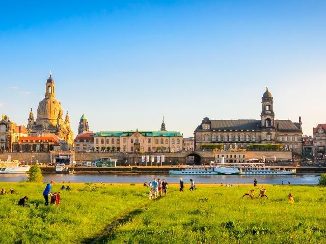 Duitsland - Dresden - Elbe