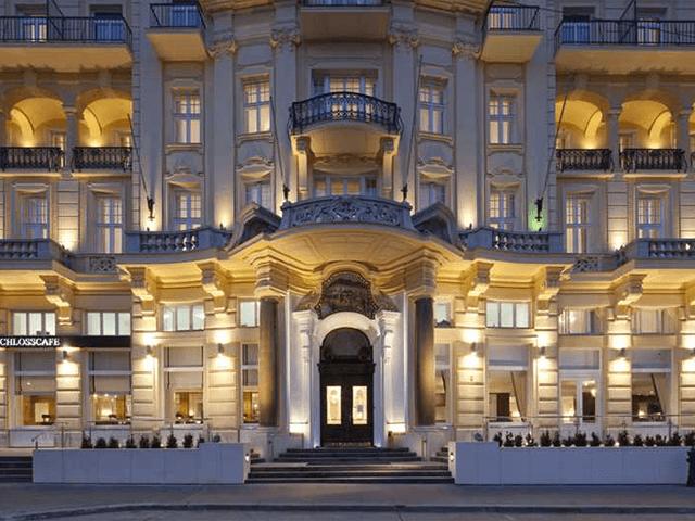 Wenen - Parkhotel Schönbrunn **** - aanzicht