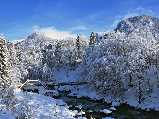 Oostenrijk - winters uitzicht