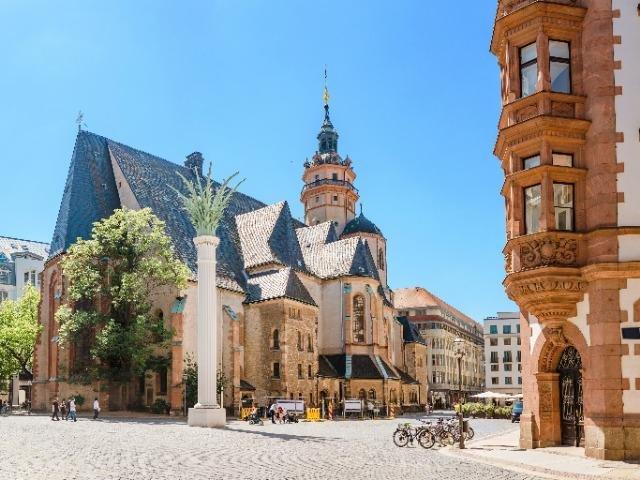 Duitsland - Leipzig - Nicolaikirche