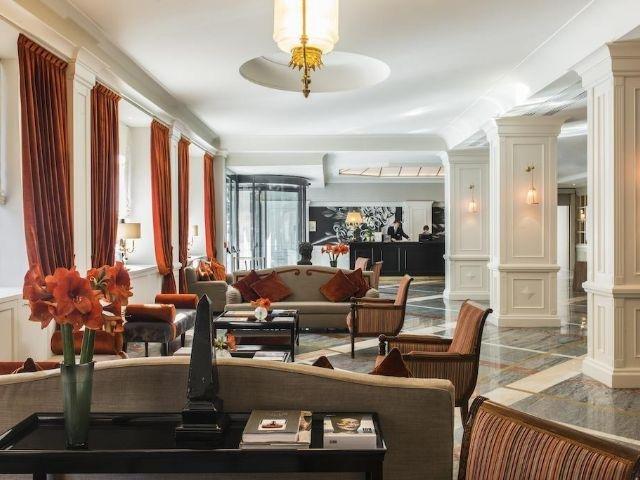 Italië - Rome - Starhotels Michelangelo **** - lounge