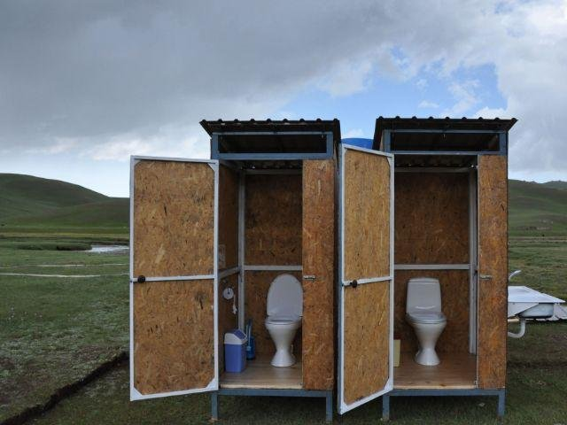 Son Kul - Yurt Camp - voorbeeld toilet