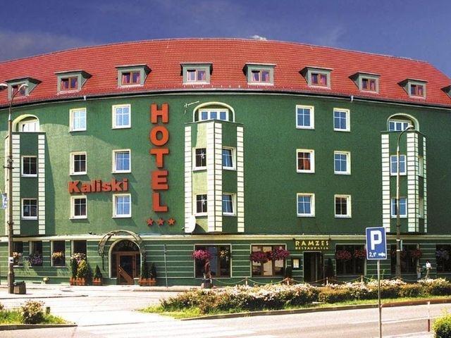 Slubice - Hotel Kaliski - aanzicht hotel