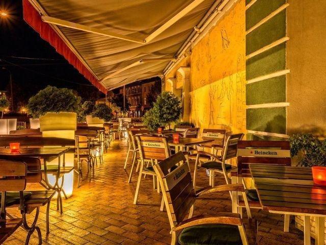 Slubice - Hotel Kaliski - terras