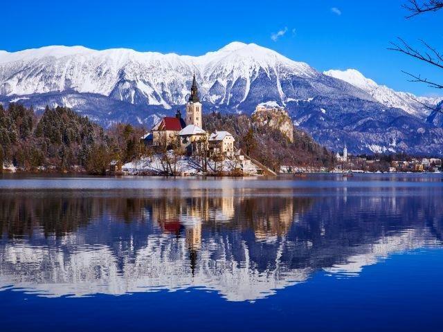 Slovenië - Meer van Bled
