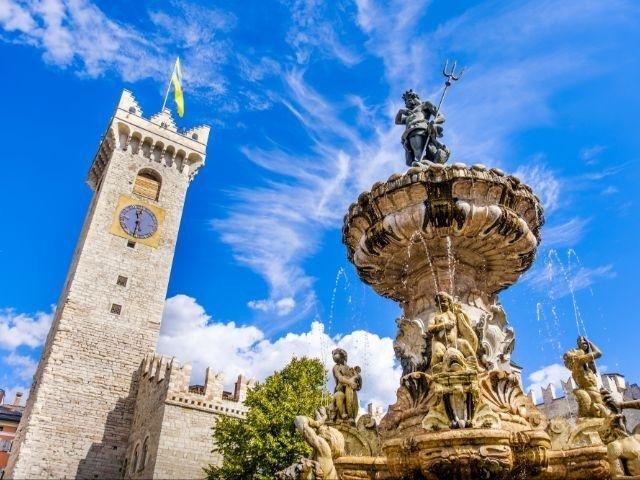 Trento - Neptunus fontein