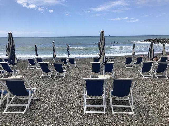 Levanto - Hotel Garden - privé strand