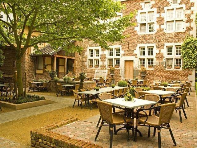 Voeren - Hotel Blanckthys 's-Gravenvoeren - terras