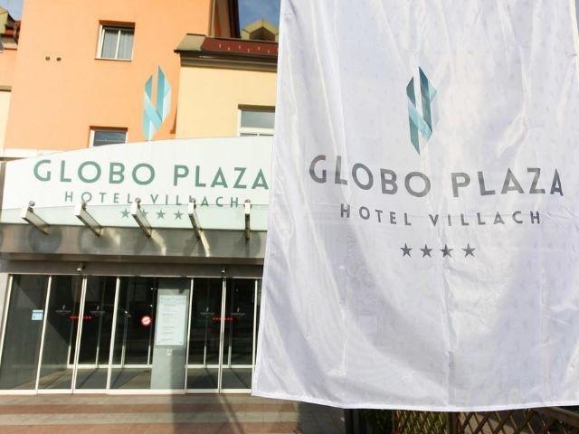 Villach - Hotel Globo Plaza - hotel aanzicht