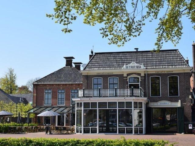 Zuidhorn - Hotel in 't Holt 1654 - hotel aanzicht