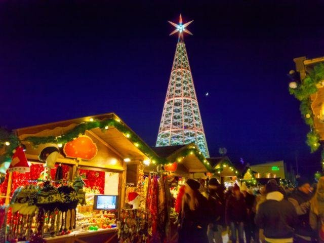 Oostenrijk - Innsbruck - Kerstboom