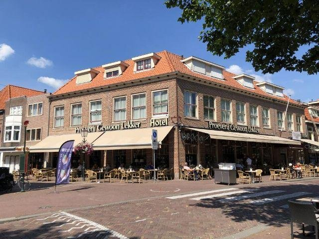 Hoorn - Hotel de Keizerskroon - hotel aanzicht