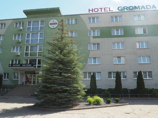 Poznan - Hotel Gromada *** - hotel aanzicht