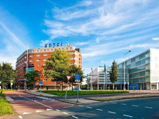 Amsterdam - Westcord Art Hotel - hotel aanzicht